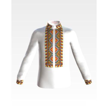 Заготовка для вишивання бісером дитячої сорочки, вишиванки на 9-12 років СД011шБ40нн