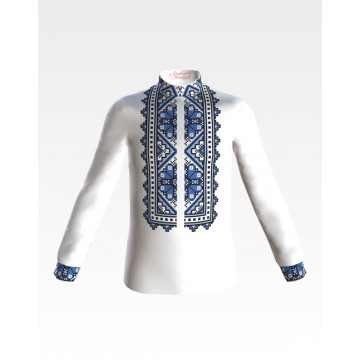 Заготовка дитячої сорочки на 1-3 років Весняна для вишивки бісером і нитками СД024дМ28нн