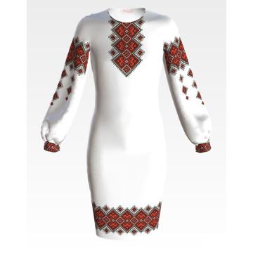 Заготовка дитячого плаття на 9-12 років Берегиня для вишивки бісером ПД048кБ40нн