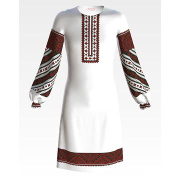 Заготовка дитячого плаття на 9-12 років Західне Поділля для вишивки бісером ПД051кБ40нн