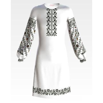 Заготовка дитячого плаття на 9-12 років Сокальська братки для вишивки бісером ПД059кБ40нн