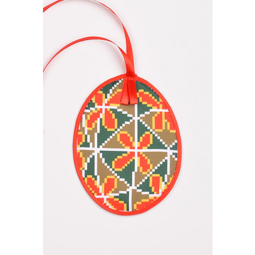Схема для вишивки бісером і нитками Барвиста Вишиванка Пошита Великодня  іграшка 10х13 ТР361аБ1013 f0e5a493c71c1